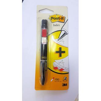 Ручка с индексами 150шт 9,5 х 43мм 3М 689Р, черный - Officedom (1)