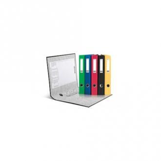 Папка с 2-мя D-кольцами 35 мм, PP/<wbr>Paper, А4, ширина 40 мм, зеленый - Officedom (1)