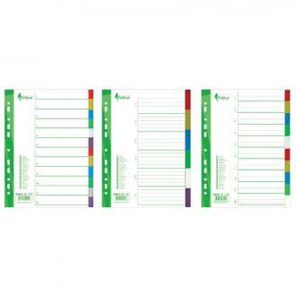 Разделители документов РР, А4, 1-5 цветные - Officedom (1)