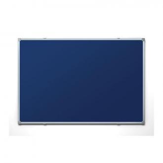 Доска настенная фетровая, 45 х 60 см, в алюм. рамке, синий - Officedom (1)