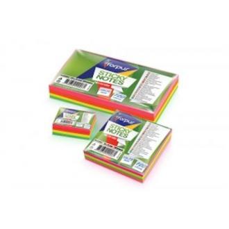 Клейкие листки Neon Mix, 50х75мм, 100л - Officedom (1)