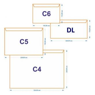 Конверт С5 162х229мм с отр. полосой, по длинной стороне, 80 гр, белый - Officedom (1)