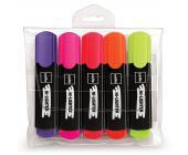 Набор маркеров текстовых Cello Office Hilighter, 5 цветов | OfficeDom.kz