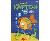 Картон цветной Hatber VK Рыбка, А4, 10л, 10цв. | OfficeDom.kz