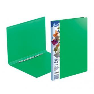 Папка для бумаг с пружинным сшивателем Forofis Clip A, А4, 0,60 мм, ПП, зеленый - Officedom (1)