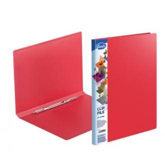 Папка для бумаг с пружинным сшивателем Forofis Clip A, А4, 0,60 мм, ПП, красный - Officedom (1)