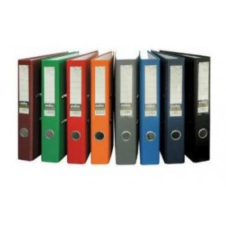 Папка-регистратор INDEX Eco А4 с бок. карманом, 50мм, черный - Officedom (1)
