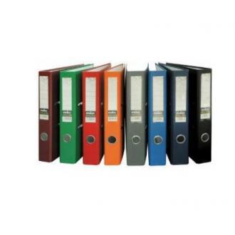 Папка-регистратор INDEX Eco А4 с бок. карманом, 70мм, оранжевый - Officedom (1)
