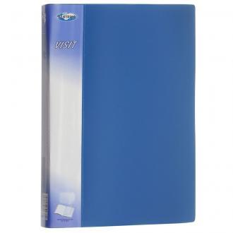 Папка с 40 карманами А4, Centrum VISIT, синий - Officedom (1)