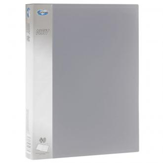 Папка с 40 карманами А4, Centrum VISIT, серый - Officedom (1)