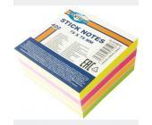 Клейкие листки (стикеры) Centrum, 75х75 мм, 400 л., 4 неоновых цвета | OfficeDom.kz
