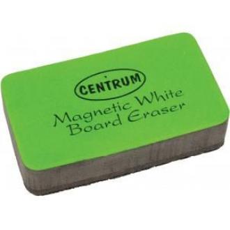 Стиратель для маркерной доски Centrum, 70х40x17мм, цвет корпуса ассорти, магнитный - Officedom (1)