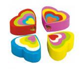 Стирательная резинка Centrum Сердце, синтетический каучук | OfficeDom.kz