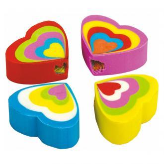 Стирательная резинка Centrum Сердце, синтетический каучук - Officedom (1)