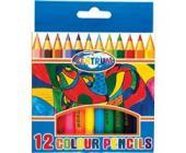 Карандаши цветные наточенные Centrum, длина 88 мм, 12 цв., картон. упаковка | OfficeDom.kz
