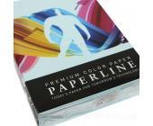 Бумага Paperline 160гр, А4, 250л, ocean (светло-голубой)