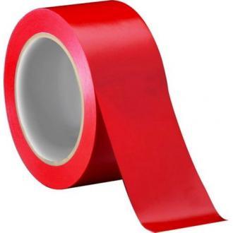 Лента клейкая упаковочная, 48х66 мм, красный - Officedom (1)