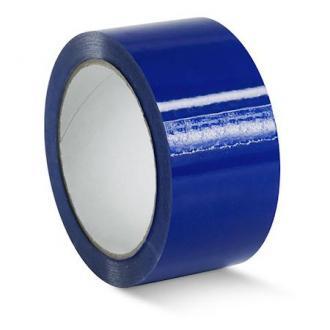 Лента клейкая упаковочная, 48х66 мм, синий - Officedom (1)