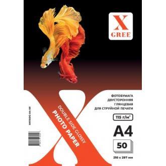 Фотобумага X-GREE 220 г/<wbr>м2, A4, 50л., двухсторон., глянец, для струйных принтеров - Officedom (1)