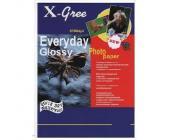 Фотобумага X-GREE EVERYDAY 240 г/м2, A4, 50 л., односторон., глянец, для струйных принтеров | OfficeDom.kz