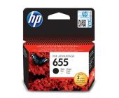 Картридж для струйн. прин. HP DJ IA 3525/4615/4625/5525/6525, CZ109AE, №655, черный | OfficeDom.kz