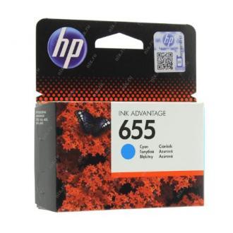 Картридж для струйн. прин. HP DJ IA 3525/<wbr>4615/<wbr>4625/<wbr>5525/<wbr>6525, CZ110AE, №655, голубой - Officedom (1)