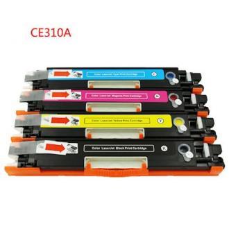 Картридж CE310A для LaserJet Color CP1025, черный - Officedom (1)