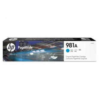 Картридж J3M68A №981A для HP PageWide Enterprise Color 556dn/<wbr>556xh/<wbr>586z/<wbr>586dn/<wbr>586f, голубой - Officedom (1)