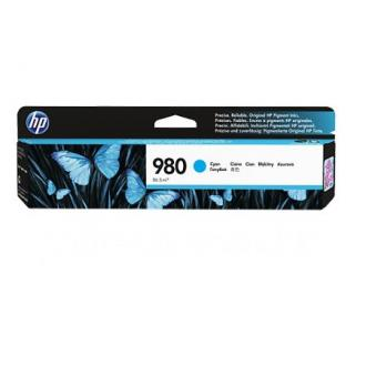 Картридж D8J07A №980 для HP OfficeJet Enterprise Color X555/<wbr>X585, голубой - Officedom (1)