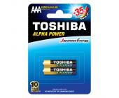 Батарейки Toshiba Alfa Power, AAA/LR3 GCH BP-2, 2 шт/уп | OfficeDom.kz