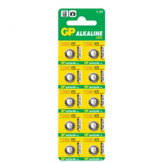 Батарейки GP Alkaline LR44 (A76), 10 шт/<wbr>уп - Officedom (1)
