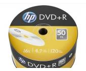Диски записываемые DVD+R HP Inkiet Printable 16X 4.7 GB | OfficeDom.kz