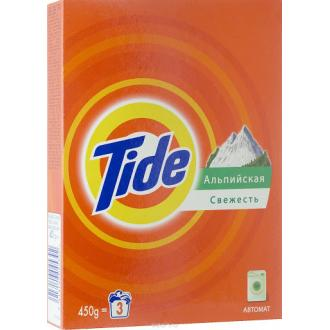 Стиральный порошок Tide Автомат Альпийская свежесть, 450 г - Officedom (1)