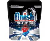Таблетки для посудомоечных машин Finish Quantum Ultimate, 45 таб., вакуум. упаковка | OfficeDom.kz