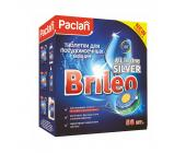 Таблетки для посудомоечных машин Paclan Brileo All in One SILVER, 56 шт/уп | OfficeDom.kz