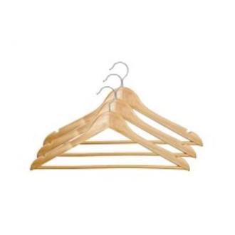 Вешалка деревянная TZLine, натуральный - Officedom (1)