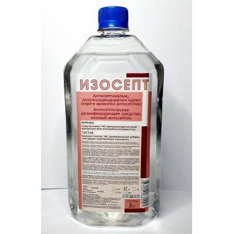Средство антисептическое Изосепт, флакон без дозатора, 1 л - Officedom (1)