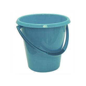 Ведро пластмассовое хозяйственное, 11л, бирюзовый (М2408) - Officedom (1)