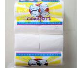 Бумага туалетная Comfort 2-слойная, целлюлоза, 8шт/упак (без обвертки)