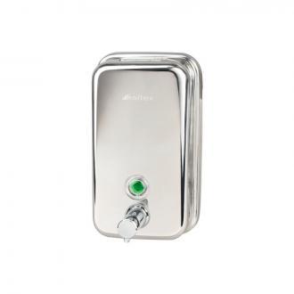 Диспенсер для жидкого мыла VEIRO PROFESSIONAL, 1 л, зеркальный - Officedom (1)