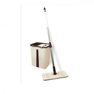 Набор для уборки швабра с ведром, с отжимом, Maxi, 12 л, Linex - Officedom (1)