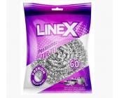 Губка спиральная д/<wbr>посуды Linex металлическая, 1 шт/<wbr>уп | OfficeDom.kz