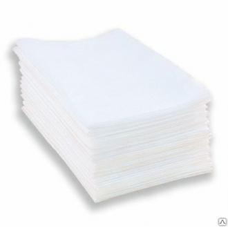 Полотенце одноразовое листовое, спанлейс, 45x90 см, 40 г/<wbr>м, stamping, 50шт/<wbr>уп., индив упак. - Officedom (1)