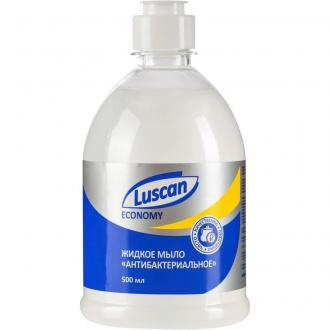 Мыло жидкое антибактериальное, 500 мл, флип-топ, Luscan Economy - Officedom (1)