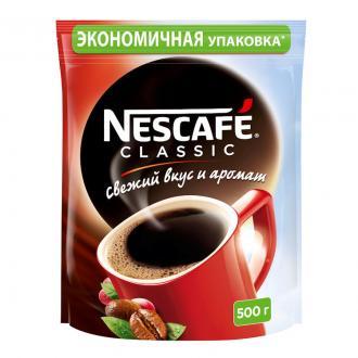 Кофе Nescafe Classic 500 г, вакуумная упаковка - Officedom (1)