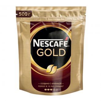 Кофе Nescafe Gold 500 гр, вакуумн.упаковка - Officedom (1)