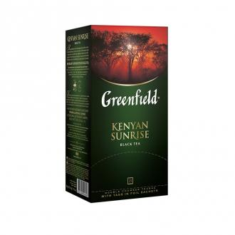 Чай черный Gf Kenyan Sunrise кенийский, 25х2г - Officedom (1)