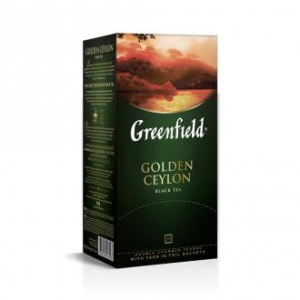 Чай черный Gf Golden Ceylon цейлонский, 25х2г - Officedom (1)