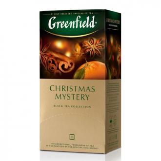 Чай черный Gf Christmas Mystery с корицей, гвоздикой, сушеным яблоком и ароматом цитрусовых, 25х1,5г - Officedom (1)
