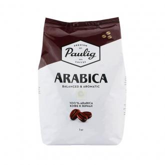 Кофе в зернах Paulig Арабика в пакете, 1000гр - Officedom (1)
